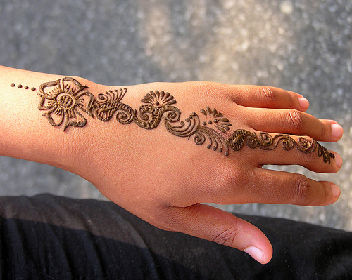 Henna Style Tattoo: South Kingstown Public Library Teens